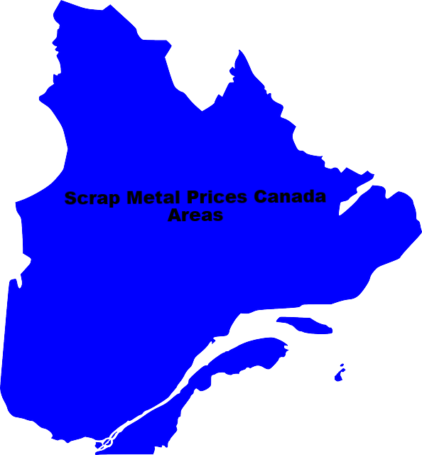 Scrap Metal Prices Canada By Area
