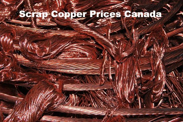 Scrap Copper Prices Canada | Current Scrap Copper Prices Per Pound